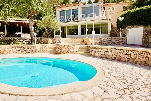 House on three floors, with swimming pool - La Turbie