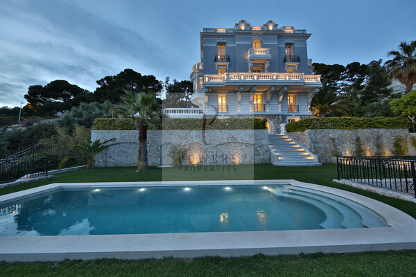 Extraordinaire villa Belle Epoque