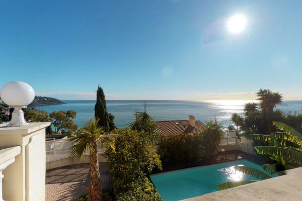 Villa à Roquebrune Cap Martin - Golfe Bleu