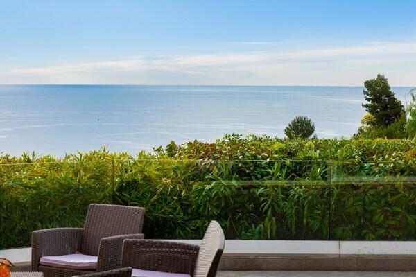 EZE – 5/6 room villa - Seaview and swimming-pool