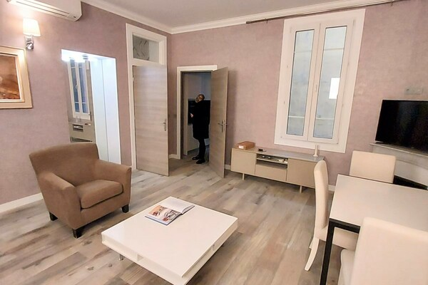 Appartement in the heart of Beausoleil, a stone throw from monaco