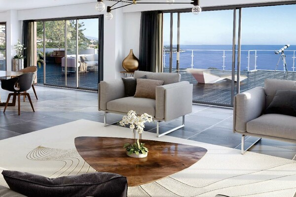 Exclusive to Monaco: The Monte-Coast view Beausoleil // 3/4p Sensation