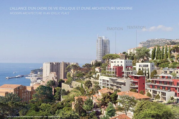 Exclusive to Monaco: The Monte-Coast view Beausoleil // 2p Temptation