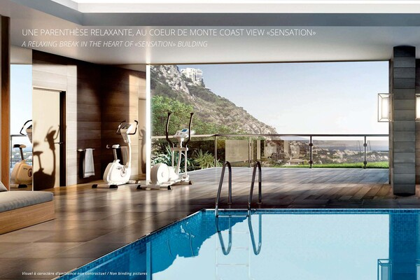 Exclusive to Monaco: The Monte-Coast view Beausoleil // 2p Sensation