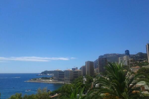 Affitto annuale / Country Park of Monaco / 2 camere vista mare e piscina