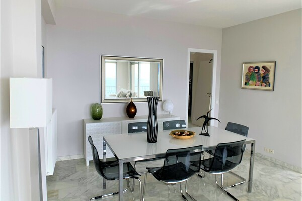 ROQUEBRUNE CAP MARTIN | 3 ROOMS FURNISHED | PANORAMIC VIEW