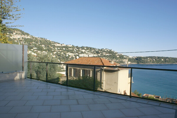 Roquebrune Cap Martin - For rental, two bedroom apartment with panoramic sea view, close to Monaco