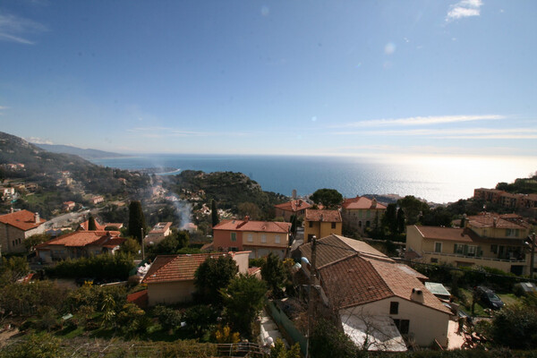 La Turbie - For rental, two bedroom apartment with wonderful terrace and panoramic sea, Monaco view