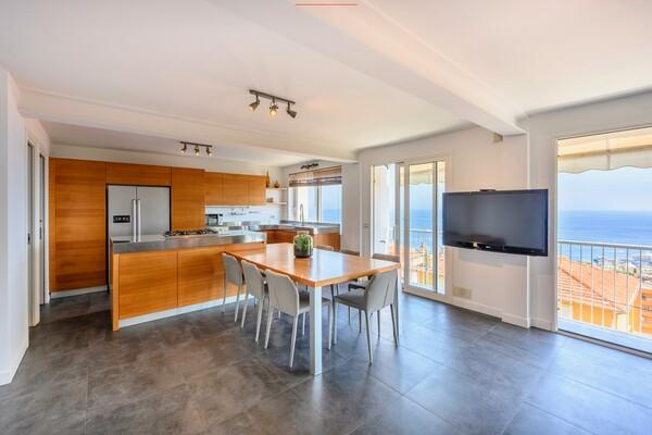Triplex apartment for sale in Beausoleil