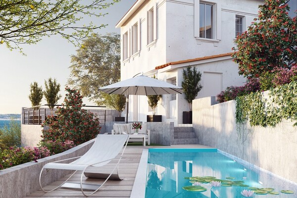 CHARMING VILLA SITUATED IN CAP D'AIL