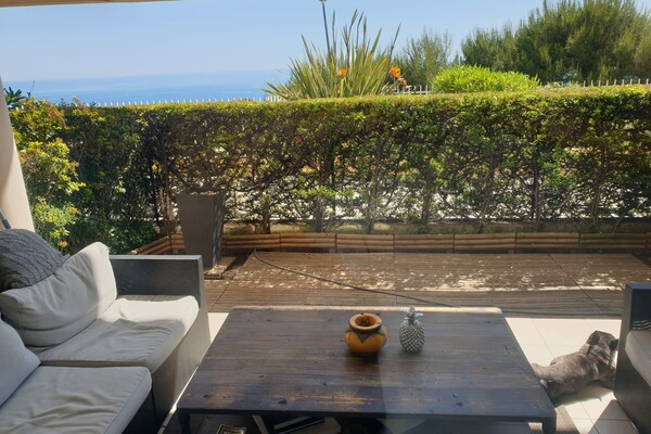 BEAUTIFUL 1 BEDROOM APARTMENT - RESIDENCE - CAP D'AIL