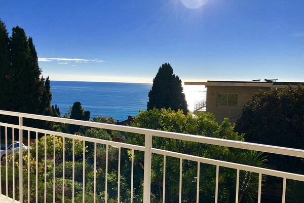 SPLENDID apartment 3 rooms MENTON GARAVAN