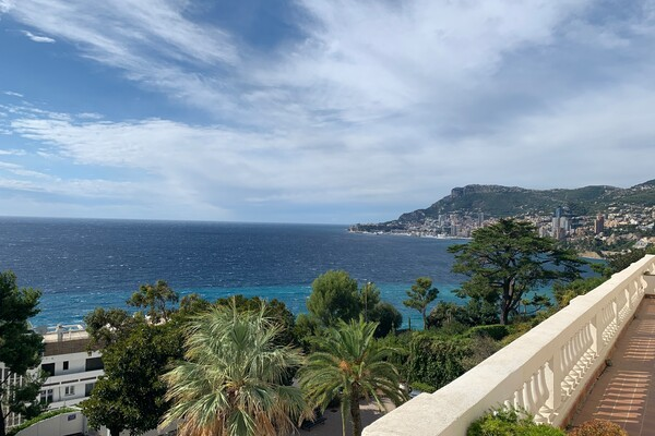 Roquebrune Cap Martin - Magnificent apartment with sea view