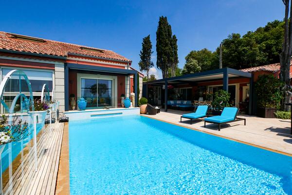 LA TURBIE - BEAUTIFUL HOUSE WITH SEA VIEW