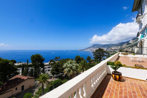 Roquebrune Cap Martin - Magnificent apartment with sea view