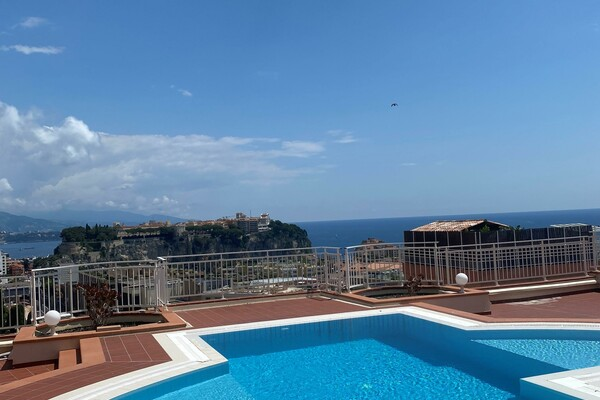 CAP D'AIL - STUNNING ONE BEDROOM WITH SEA VIEW