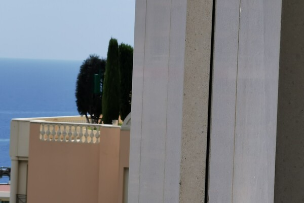 Beausoleil - monaco border - beautiful 2 rooms with large terrace