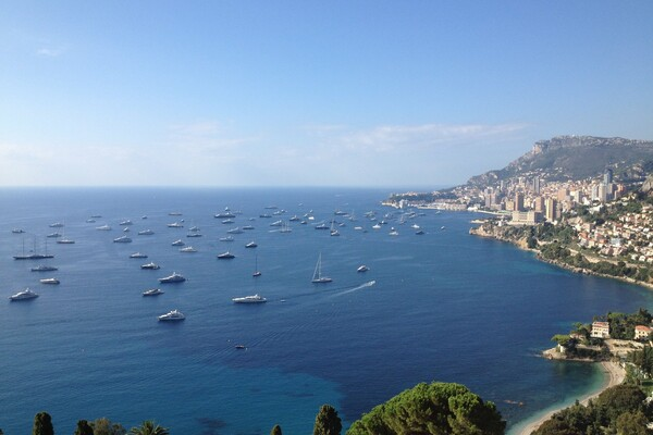 Roquebrune-Cap-Martin - Penthouse in a castle with panoramic views on the sea and Monaco