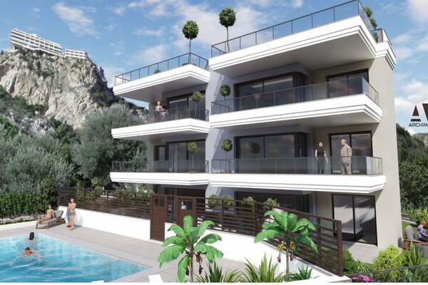 Roquebrune-Cap-Martin - Luxury building at the door of Monaco