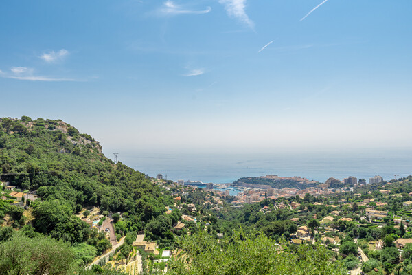 La Turbie - Luxurious villa overlooking Monaco and the sea