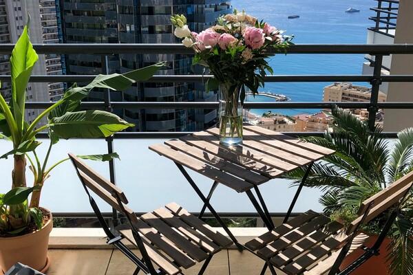 Beausoleil - New 3 room apartment near Monaco