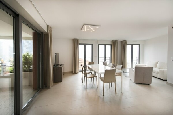 Beausoleil - Beautiful apartment with terrace sea view