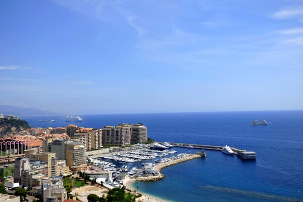Cap d'Ail - 2-room apartment with panoramic view