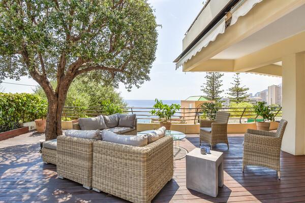 Roquebrune-Cap-Martin - Rental - La Vigie - Superb apartment with large terrace and sea view