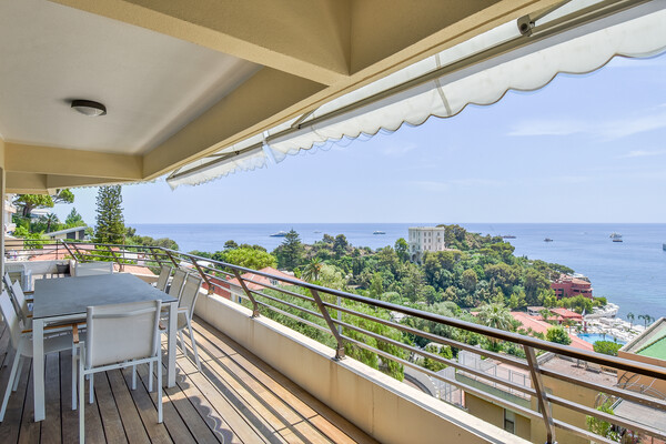 Roquebrune-Cap-Martin - Rental - La Vigie - Penthouse  with direct access to Monte Carlo Beach