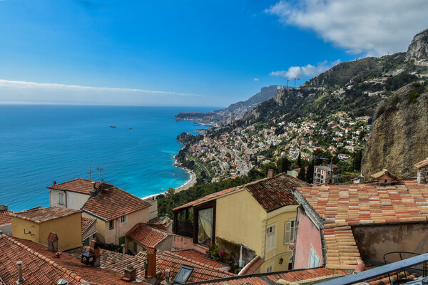 Unique 3 br apartment in Roquebrune old town