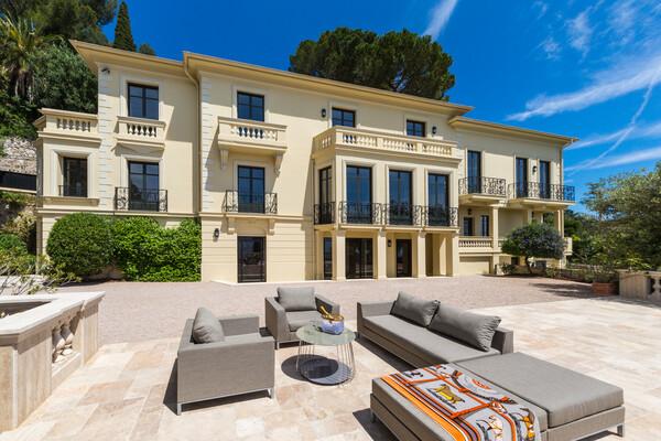 Roquebrune Cap Martin villa de charme vue sur Monaco