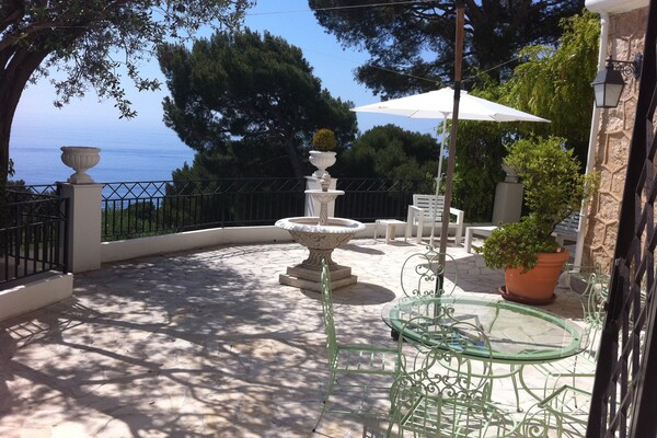 Cap d'Ail - Large apartment with terrace and garden on the seafront