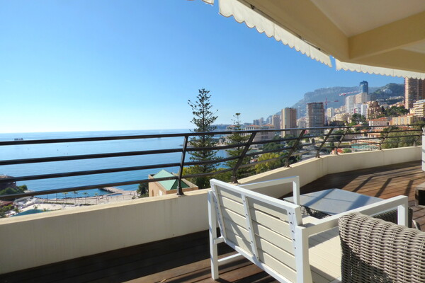 Roquebrune-Cap-Martin - La Vigie - Apartment with direct access to Monte Carlo Beach