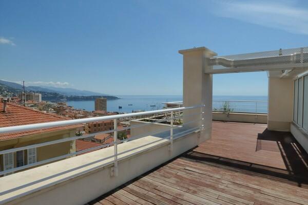 Beausoleil - Penthouse with roof terrace near Monaco