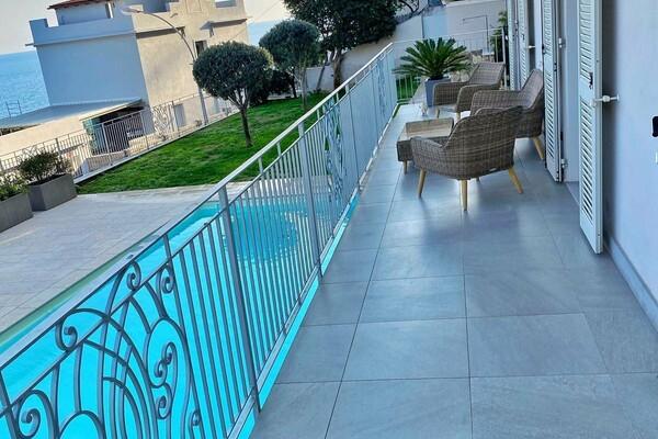 Roquebrune Cap Martin - Appartement 3P aux portes de Monaco