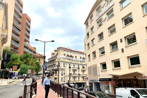 Near MONTE-CARLO, Large furnished studio with Parking - Rental of any duration